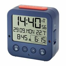 Radio-réveil Bingo TFA 60.2528.06 bleu réveil de voyage 2 Alarme Crescendo