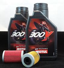 KTM EXC SX SMR 525 Service Kit Motul 300V Racing Factory Line Ölwechsel Ölfilter