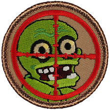 Great Boy Scout Patches - The Zombie Hunters Patrol Patch (#417)
