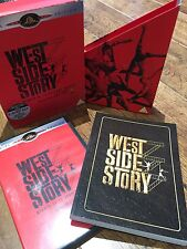 WEST SIDE STORY ~ 1961 Musical Classic 2-Disc Ltd Ed UK DVD in Box + Book