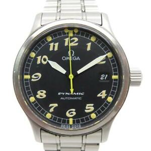 Omega Dynamic Watch Automatic Stainless Steel Black 6811