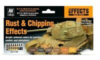AV Vallejo Rust & Chipping Effects Acrylic Colour Set For Models