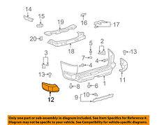 Toyota FJ Cruiser Driver Side Rear Bumper Pad 52463-35021