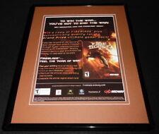Fire Blade 2002 PS2 Xbox 11x14 Framed ORIGINAL Advertisement