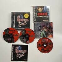 Playstation 1 Resident Evil 2 & Resident Evil Survivor (hard manual READ!) PS1