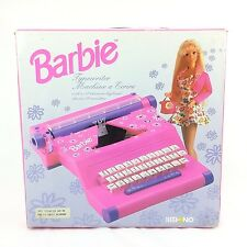 Barbie Typewriter - Mehano - Mattel - 1994 - Boxed with instructions and labels