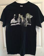 Jingleball 2012 Concert Atlanta T Shirt Medium M Justin Bieber Ke$ha Flo-rida