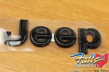 2011-2018 Jeep Wrangler JK Black Jeep Replacement Hood Emblem Nameplate Mopar