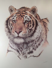 """Siberian Hunter"" -Tiger- Franklin Mint Signed in Pencil Lithograph with COA"