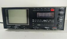Vintage Philco Black And Whte TV FM/AM Radio Model OB 234A CHOI Portable working