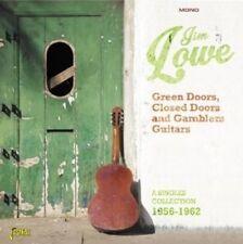 Jim Lowe - Green Doors Closed Doors & Gamblers Guitars [New CD] UK - Import