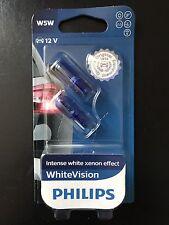 Philips W5W White Vision Xenon Effect Standlicht 4300 Kelvin Blue 2st **NEU!**