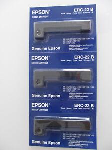 3 x ERC-22B LONGLIFE RIBBON Cap. 6 Mio ECR 2450  ERC22B  M190 M180 M-192G 183H