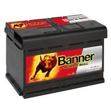 P7412 Banner Power Bull 74ah batteria auto * pronti all'uso *