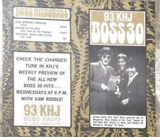 KHJ 93 Boss 30 Radio Survey- No. 202 - May 14, 1969