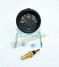 Temperaturanzeige Thermometer Wasser Kühlwasser 12 Volt kompl. mit Sensor 12V