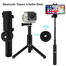 For iPhone X XR XS Max Extendable Selfie Stick Monopod Bluetooth Remote Shutter