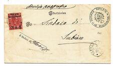 J943-OLEVANO ROMANO-PIEGO X SUBIACO CON CENT 2 SU 70 CENT