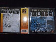 CD EDDY WILSON'S BLUES BAND & FRIENDS / STILL GOT THE BLUES /
