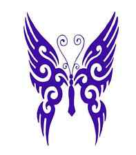 Tribal Style Butterfly 502 - Vinyl Sticker / Decal - Custom Made to Order