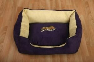 "Snoozzzeee Dog - Sofa Dog Bed 27"" Purple"