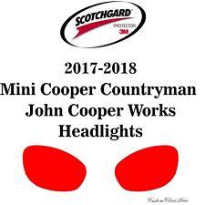 3M Scotchgard Paint Protection Film Pre-Cut 2017 2018 Mini Countryman JCW