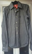 OFFICIAL Superdry Famous Shirt Mills Striped - Small - EXCELLENT - WORN ONCE