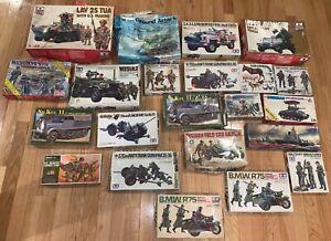 Lot of 22 Models Military
