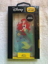 OTTER BOX Disney Themed Little Mermaid iPhone X Symmetry Series Hard Phone Case