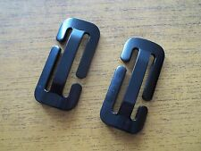 2 x Seat Belt Gated Buckle Locking Clip Safe N Sound Fits Child Harness