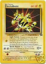 POKEMON Promo Card ELECTABUZZ #2 Black Star Rare Mint PROMOTIONAL