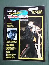 DOCTOR WHO MAG -  NO146  - MAR 1989