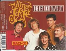 MAMA'S JASJE - Doe het licht maar uit CD MAXI 3TR BELGIUM 1991