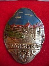 Bad Nenndorf used badge stocknagel hiking medallion G4110