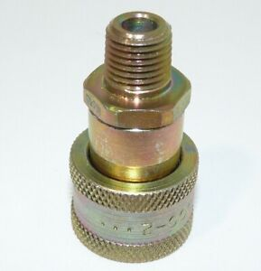 Parker Pioneer 3050-2 QD Female Coupler 1/4 MPT 10,000 psi 6 gpm NEW