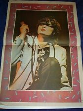 SIOUXSIE & Banshees white jacket Vintage newsprint POSTER 16x12 inches