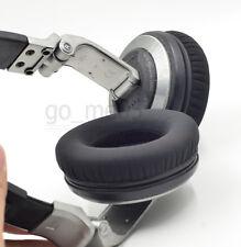 Matte black Ear pads cushion for Pioneer hdj1000 hdj2000 mk2 hdj1500 headset uk