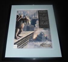 Legendary the Game 2008 Spark Framed 11x14 ORIGINAL Advertisement