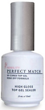 LeChat Perfect Match High Gloss Top Gel Sealer UV/LED - .5oz - PMT02