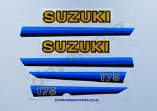 SUZUKI PE175T 1980 STICKER KIT DECAL KIT Enduro Twinshock Motocross Classic