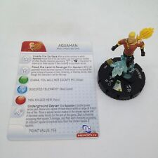 Heroclix Superman set Aquaman (Flashpoint) #048 Super Rare figure w/card!