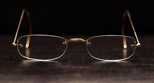 Antique Vintage Rimless Frameless Eyeglasses 1/10 12k Gold Filled Steve Jobs