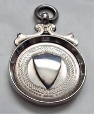 Vintage 1931 Hallmarked Sterling Silver Fob Medal