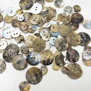 50Pcs Natural Shell Sewing Buttons Color Japan Mother of Pearl MOP Square PH294