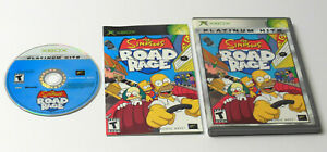 XBOX THE SIMPSONS ROAD RAGE Complete TESTED Xbox 360 Compatible FAST SHIPPING