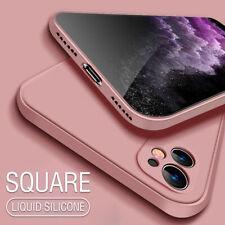 Para iPhone 11 Pro XS MAX XR XS X 8 7 SE 2020 nuevo Liquid Silicona Funda Cubierta Suave