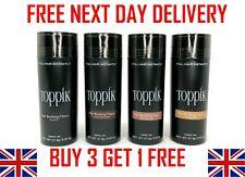 TOPPIK Hair Building Fibers 27.5g - Buy 3 Get 1 Free ( ADD 3 TO BASKET )