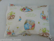 Child Toddler Cot Pillowcase - Beatrix Potter - Peter Rabbit - 100% Cotton