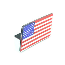 United State American USA Flag Metal Front Grlle Emblem Badge For Ford Mustang