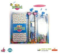 MERMAID TALES STATIONERY SET Book / Eraser / Ruler / Sharpener / Pencil 380045